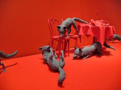 Sandy Skoglund - The Fox Is Black