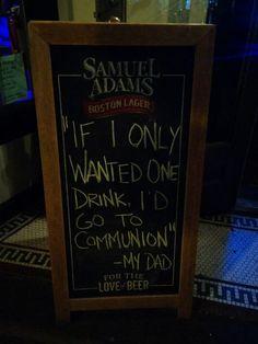 Raised Catholic But Converted To Alcoholism