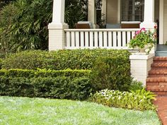 Need new landscaping ideas? Steal this traditional look that always works from #hgtvmagazine http://www.hgtv.com/landscaping/copy-the-charming-curb-appeal/pictures/page-28.html?soc=pinterest