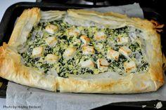 Spinach Recipe with Kinda Greek Salad | Farmhouse Home