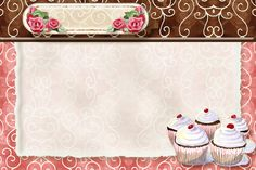 Cupcake recipe card