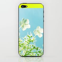 Retro tint Hydrangea iPhone & iPod Skin by Cally Creates - $15.00