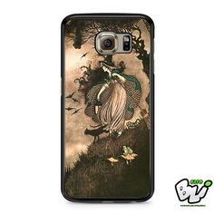Witch And Cat Samsung Galaxy S6 Case