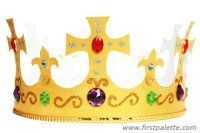 Step 12 Royal Paper Crown craft