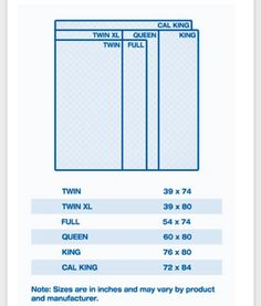 Ikea 174 Mattress Sizes Chart To Compare Differences In