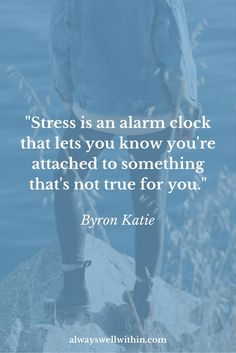 """Stress is an alarm clock that lets you know that you're attached to something that's not true for you. Do you know your early warning signs of stress? Learn how to detect them in this piece. How To Stop Stress, Stress Less, Reduce Stress, Stress Free, Quotes Enjoy Life, Quotes To Live By, Life Quotes, Chronic Stress, Stress And Anxiety"