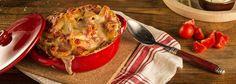 Découvrez la recette Gratin de Maccheronis aux Trois Fromages sur Galbani, le site spécialisé dans les recettes italiennes