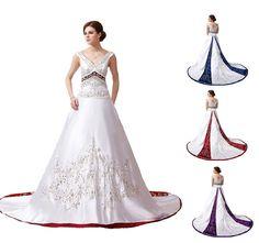 Faironly New Cap Sleeve Bridal Gown Wedding Dress Custom Size 6 8 10 12 14 16++
