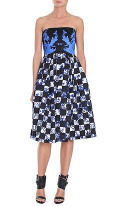 @Tibi New York New York Rococo Statement Dress was made for dancing #weddings #blacktie