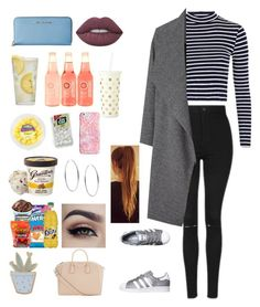 """""""picnic with boyf"""" by outfits69 ❤ liked on Polyvore featuring Topshop, MICHAEL Michael Kors, Martha Stewart, Lime Crime, Kate Spade, Vera Bradley, Michael Kors, adidas Originals, Miss Selfridge and Des Petits Hauts"""