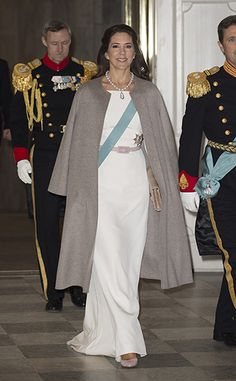 Princess Mary of Denmark looks stylish at New Year's reception