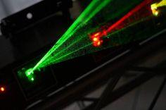 Rayo laser 04 colores