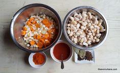 Iahnie de fasole cu ciolan afumat - rețeta pas cu pas | Savori Urbane Vegetables, Food, Essen, Vegetable Recipes, Meals, Yemek, Veggies, Eten