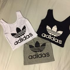 Adidas originals Rework crop top sports top por ClothingPalette