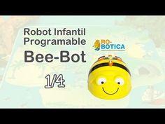 Robótica Educativa con Bee-Bot para maestros (1/4) - YouTube Arduino, Middle School, Bee, Coding, Classroom, Teaching, Robots, Youtube, Programming