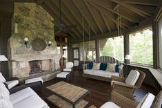 Dreamy #fireplace #3seasonporch