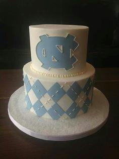 UNC Groom's Cake.