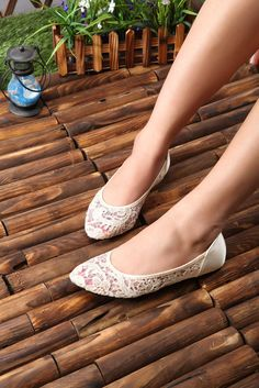 Image of [grhmf21900005]New Fashion  Leather Hollow Out With Lace Shoes