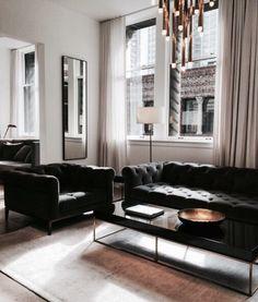 Elegantes stilvolles Wohnzimmer.