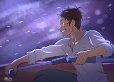 Lance as Jim Hawkins from Treasure Planet. He certainly embodies the inventive, free-spirited aspect of that character.