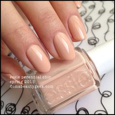Essie Perennial Chic – Essie Spring 2015. For all the swatches, click on thru to www.imabeautygeek.com!