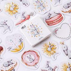 45x Kawaii Journal Diary Decor Flower Stickers Scrapbooking Stationery Supply Y;