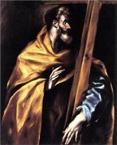 Apostle St. Philip - El Greco