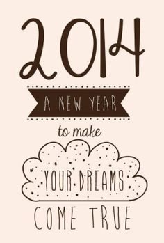A new year to make your dreams come true