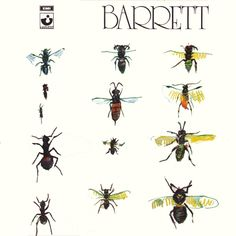 Barrett Gram Vinyl): Barrett/i was his second solo album, where he was joined by Pink Floyd members Rick Wright and David Gilmour. Gilmour and Wright also acted as producers. Pink Floyd, Lp Vinyl, Vinyl Records, Richard Wright, Pochette Album, Google Play Music, Lp Cover, David Gilmour, Album Covers