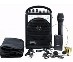 HISONIC HL Portable PA System with Wireless Microphones and Lithium Rechargeable Battery and Car Cable Bluetooth Connected with Cell Phones and Pads Black Wireless Headset, Bluetooth, Look Good Feel Good, Top 14, Diving, Coloring Books, Musical Instruments, Places, Floral