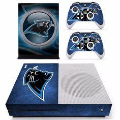NFL Carolina Panthers Microsoft Xbox One Slim Console Skin Sticker