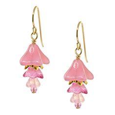 Pretty Belle Earrings | Fusion Beads