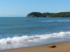 Baratti beach in May