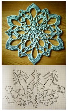 Crochet Doilies, Crochet Stitches, Crochet Patterns, Xmas Decorations, Making Out, Crochet Projects, Good Books, Snowflakes, Crochet Earrings