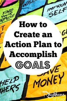 This article contains tips to make an action plan to accomplish goals. Creating an action plan and sticking to it is a surefire way to reach your goals and live the life of your dreams. Don't wait… do it today!
