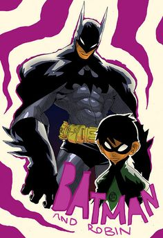 """Batman and Robin"" by Corey Lewis"