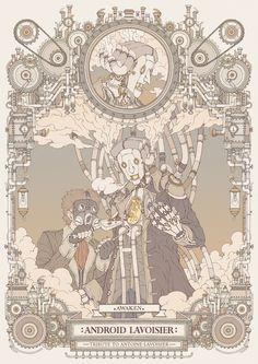 Android Lavoisier -awaken- tribute to Antoine Lavoisier