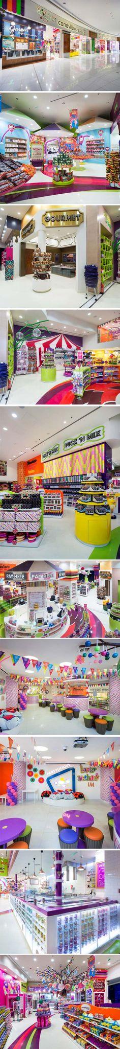 Candylicious at The Dubai Mall by Studio EM, Dubai – UAE.