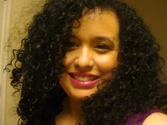 Curly Hair On Pinterest Curly Hair Routine Curly Hair