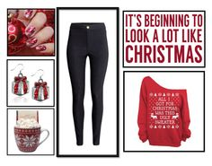"""""""Winter Holiday Outfit"""" by indierock4life on Polyvore featuring Sixtrees, Tuttle and H&M"""