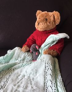 Ravelry: Guardian Angel Baby Blanket pattern by Knitwits Heaven Celtic Shamrock, Solids For Baby, Happy Flowers, Baby Wraps, Stockinette, Cuddling, Ravelry, Car Seats, Heaven