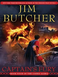 Captain's Fury (Codex Alera, Book 4) by Jim Butcher, http://www.amazon.com/dp/B000W93CBS/ref=cm_sw_r_pi_dp_rUPSrb00C61RA Excellent book series!!