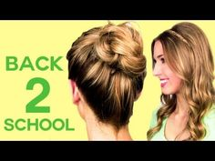 4 {NO HEAT} Back To School Hairstyles