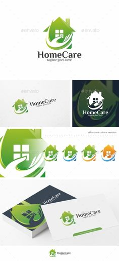 Home Care Logo Design Template Vector #logotype Download it here: http://graphicriver.net/item/home-care-logo-template/14437237?s_rank=907?ref=nexion