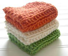 Organic cotton wash cloths-soft on your skin!