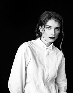 Eve Hewson, photographed by Rainer Hosch for L'Uomo Vogue, July/Aug 2014
