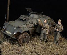 On patrol | Dioramas and Vignettes | Gallery on Diorama.ru