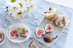 Earl Grey and Fig Muffins