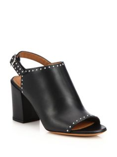 Givenchy - Elegant Leather Mules