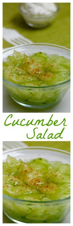 Hungarian cucumber salad recipe (Uborka saláta) is typically eaten with many heavy, meat-centric meals. Quick, easy, delicious. Usually, instead of eating a salad as an appetizer, we eat this right along side our main meal, alternating bites to get something heavy and something light at the same time. Click for the recipe.